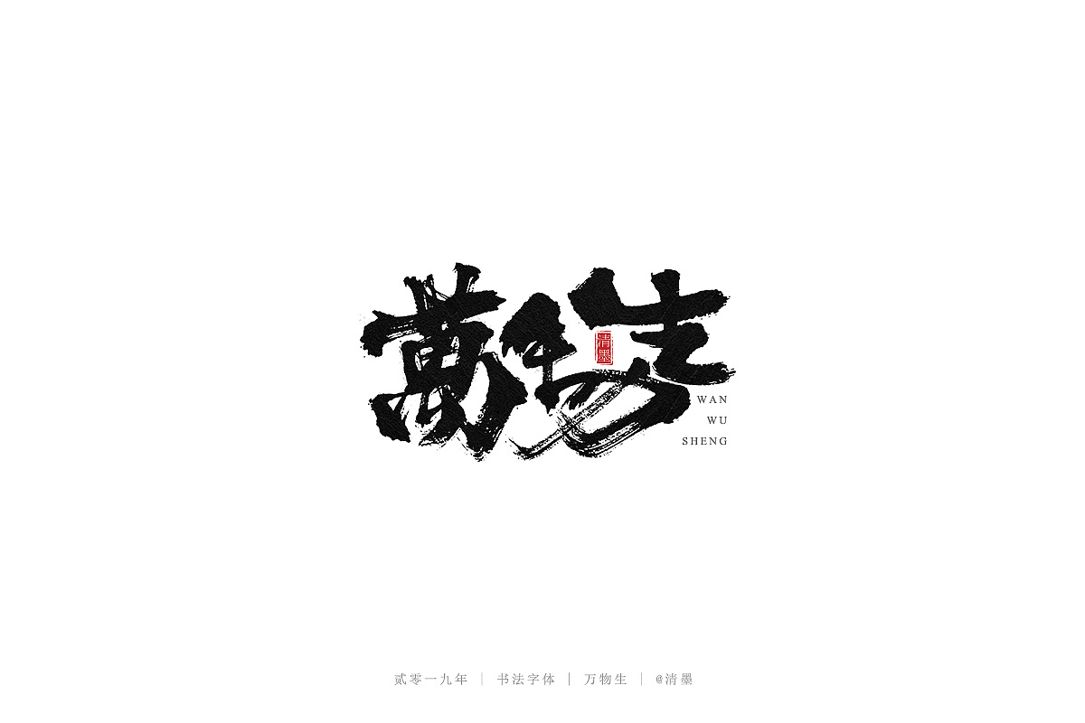 16P Chinese traditional calligraphy brush calligraphy font style appreciation #.1543