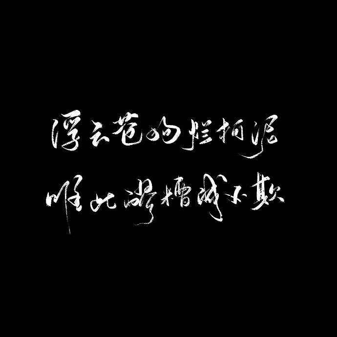 9P Chinese traditional calligraphy brush calligraphy font style appreciation #.1564