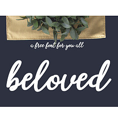 Permalink to beloved Font Download