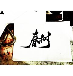 Permalink to 14P Chinese traditional calligraphy brush calligraphy font style appreciation #.2167