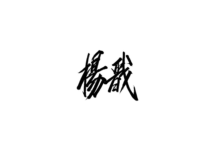 28P Chinese traditional calligraphy brush calligraphy font style appreciation #.2176