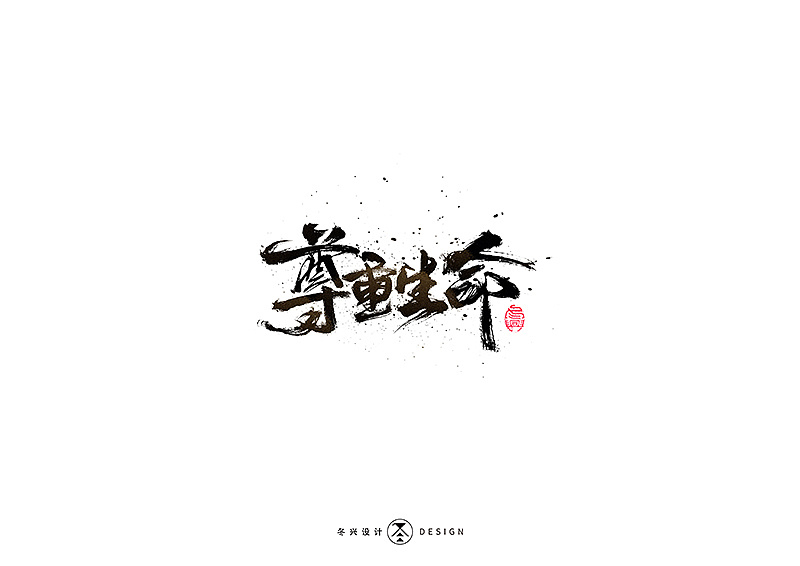 30P Chinese traditional calligraphy brush calligraphy font style appreciation #.2199