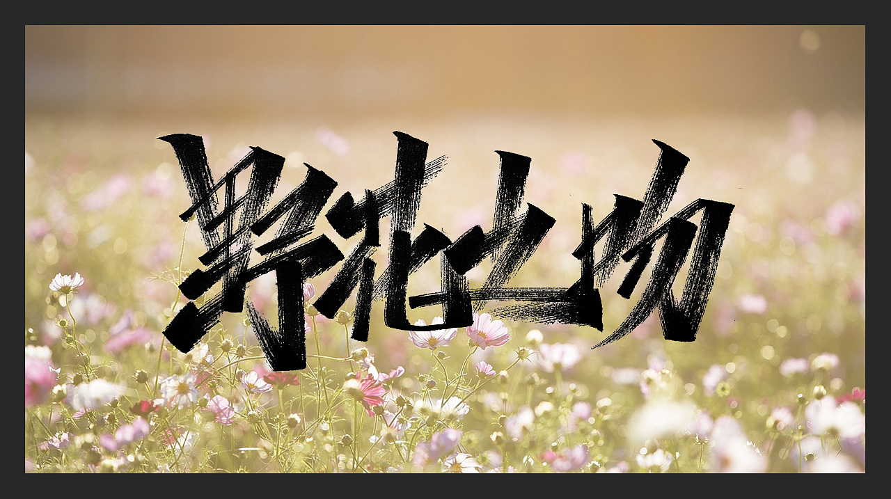 42P Chinese traditional calligraphy brush calligraphy font style appreciation #.2235