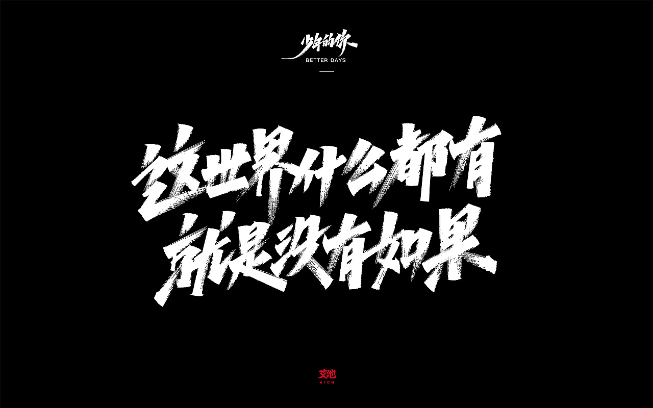 19P Chinese traditional calligraphy brush calligraphy font style appreciation #.2245