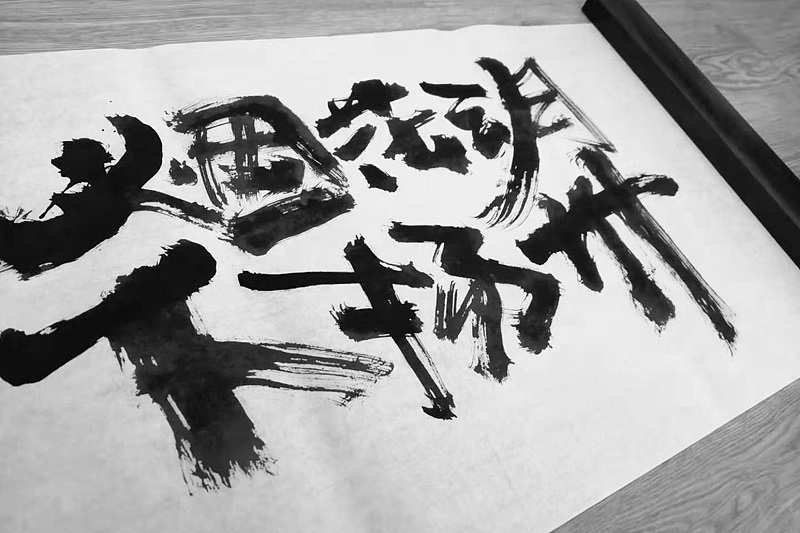 10P Chinese traditional calligraphy brush calligraphy font style appreciation #.2437
