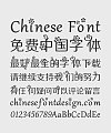 Wait for the wind to come-beautiful print pattern Chinese Font-Simplified Chinese Fonts