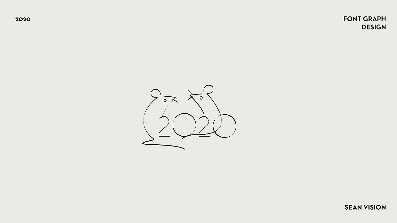 2019 FONT GRAPH DESIGN-by SEAN_VISION
