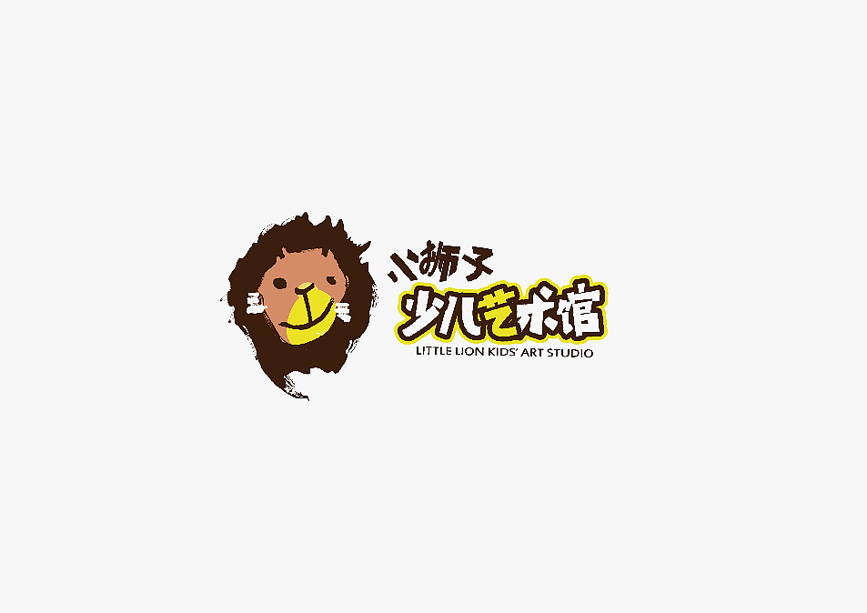 Chinese font design-After thinking for a long time, we made this logo design that combines fonts and patterns.