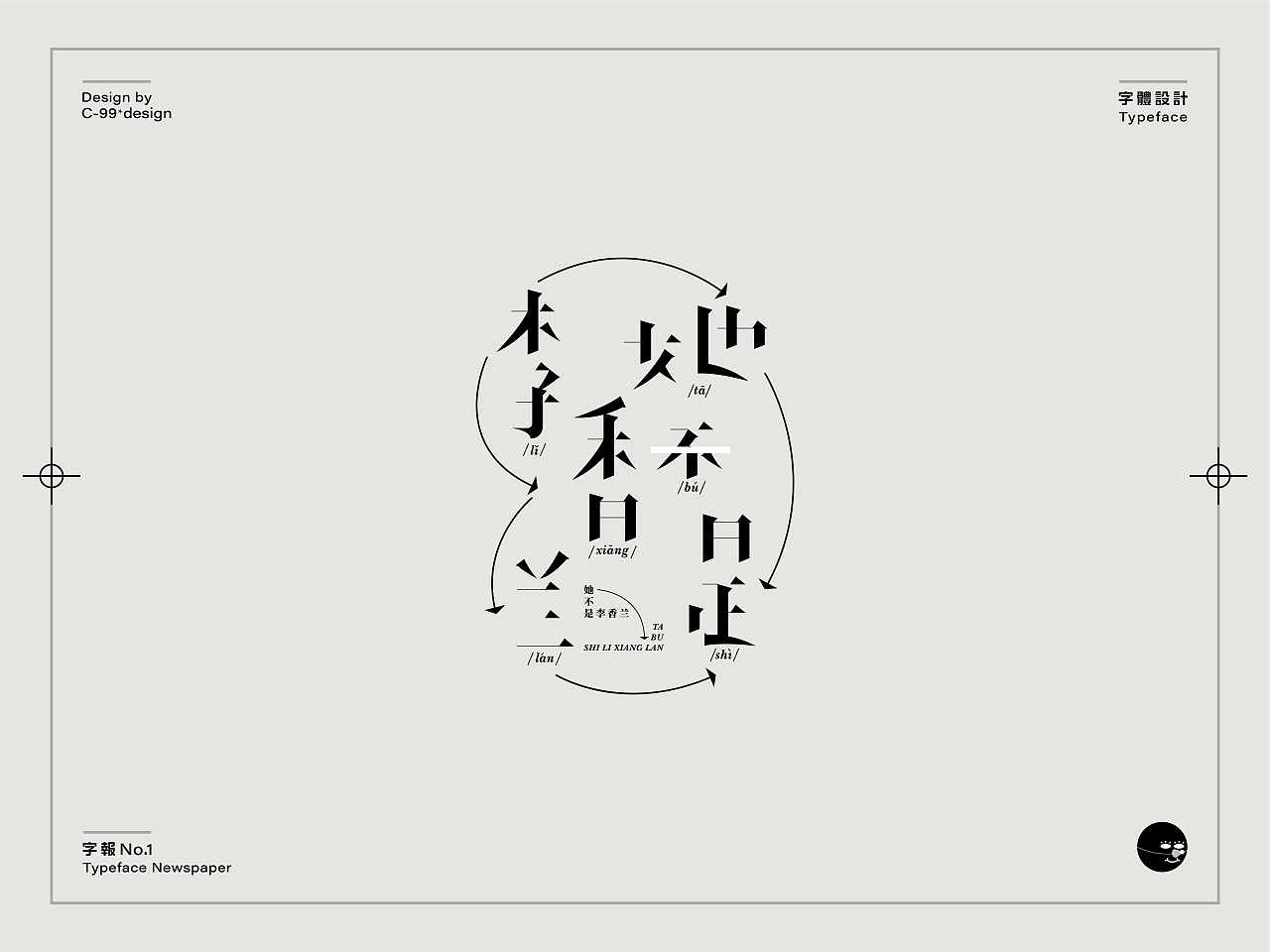 Chinese Creative Font Design-Font Poster Design on Epidemic Situation