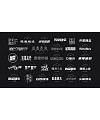 Chinese Creative Font Design-Do not forget your initiative mind, insist on writing