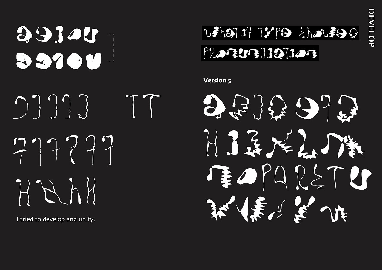 Speculative design, an assumption about future fonts