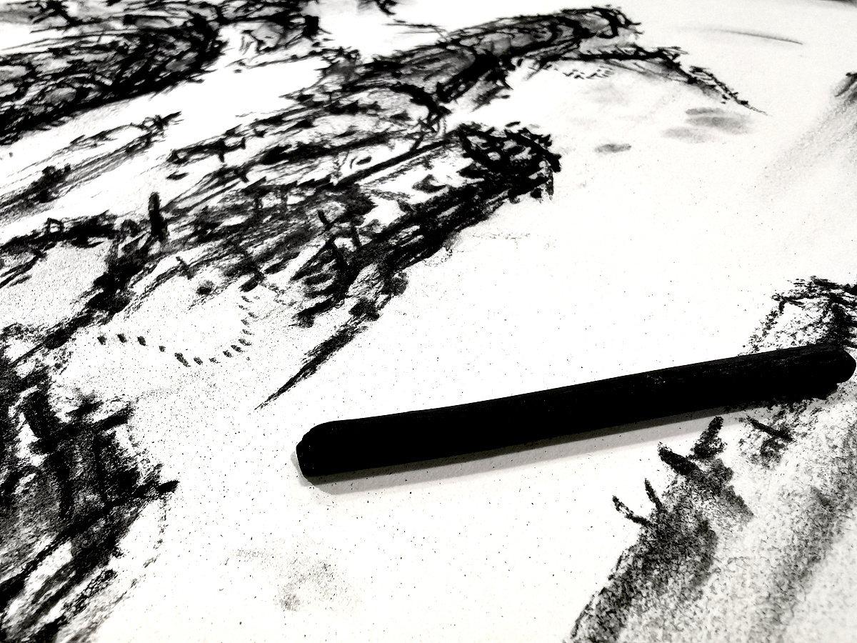 Chinese Creative Font Design-Exploration of Chinese Painting and Landscape Painting Fonts