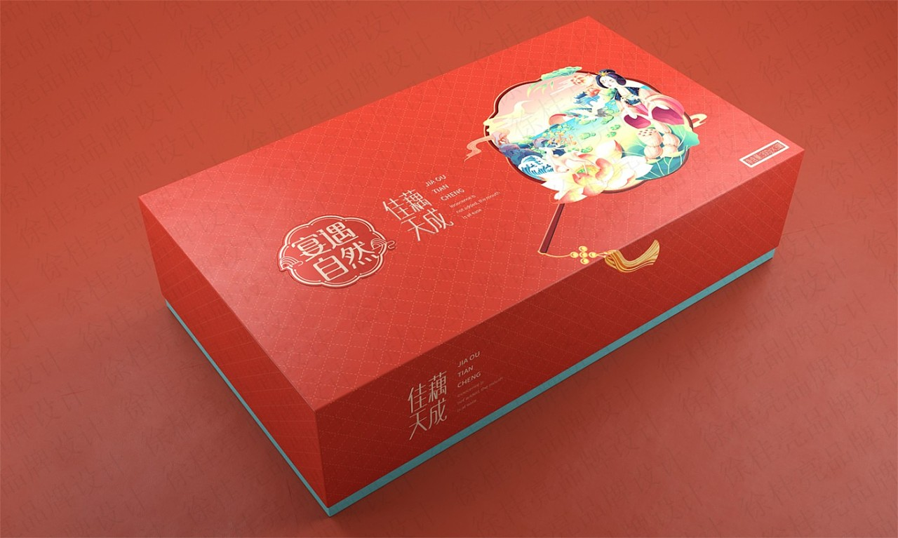 The Feast Meets Natural Lotus Root Starch —— Brand Design of Xu Guiliang