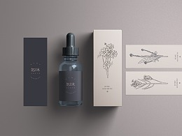 Brand design (beauty makeup brand) of Mu Qingsha Aesthetics Hall (LOGO, VI)
