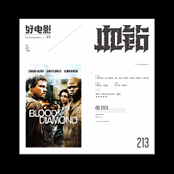 Interesting Chinese Creative Font Design-Good movie recommended series fonts