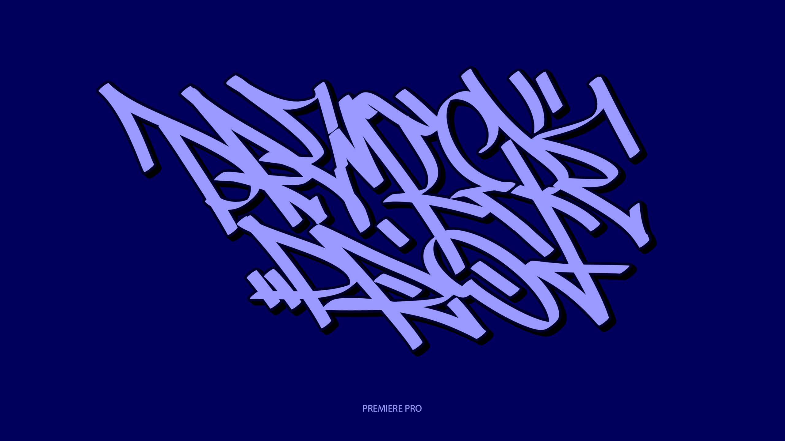 handstyle-Western graffiti font practice