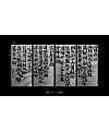 9P Creative Chinese font reconstruction album #.98
