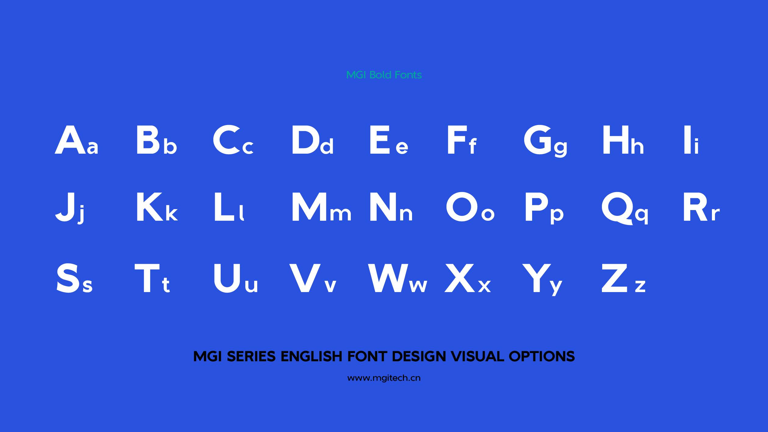 MGI English Series Font Customization-Crazy Pencil Tip