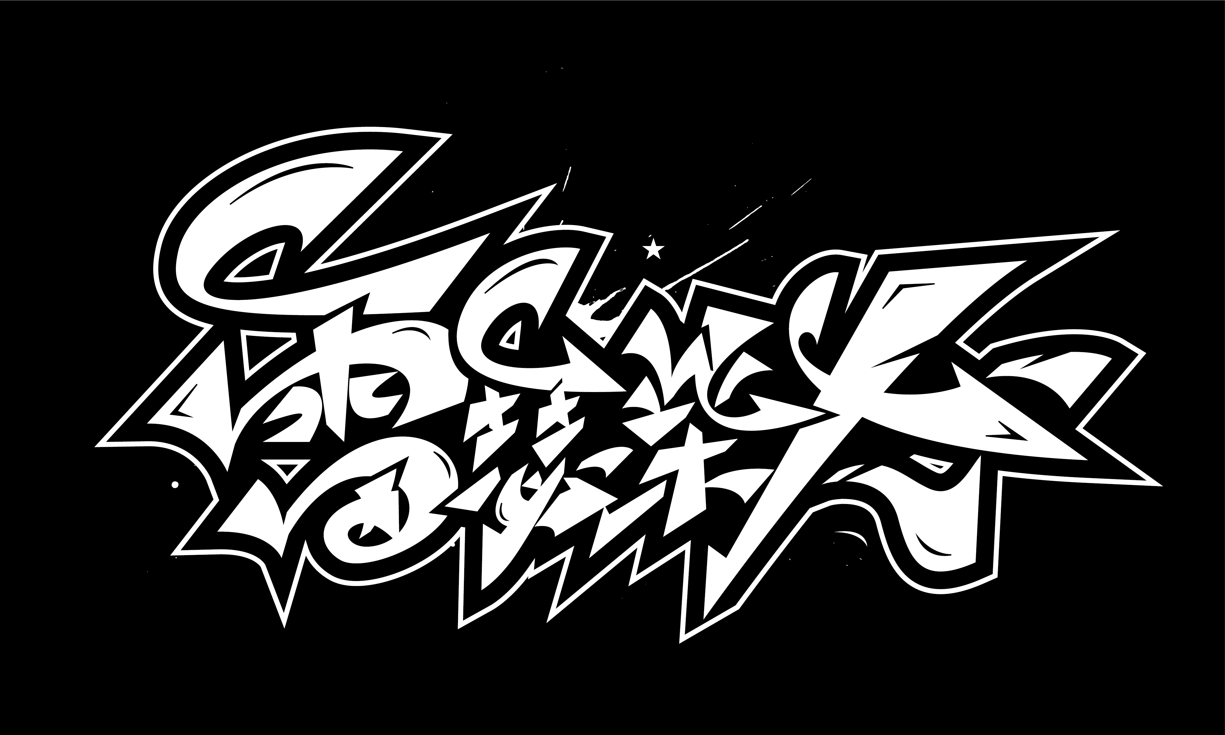 Daily update of hand-painted graffiti fonts