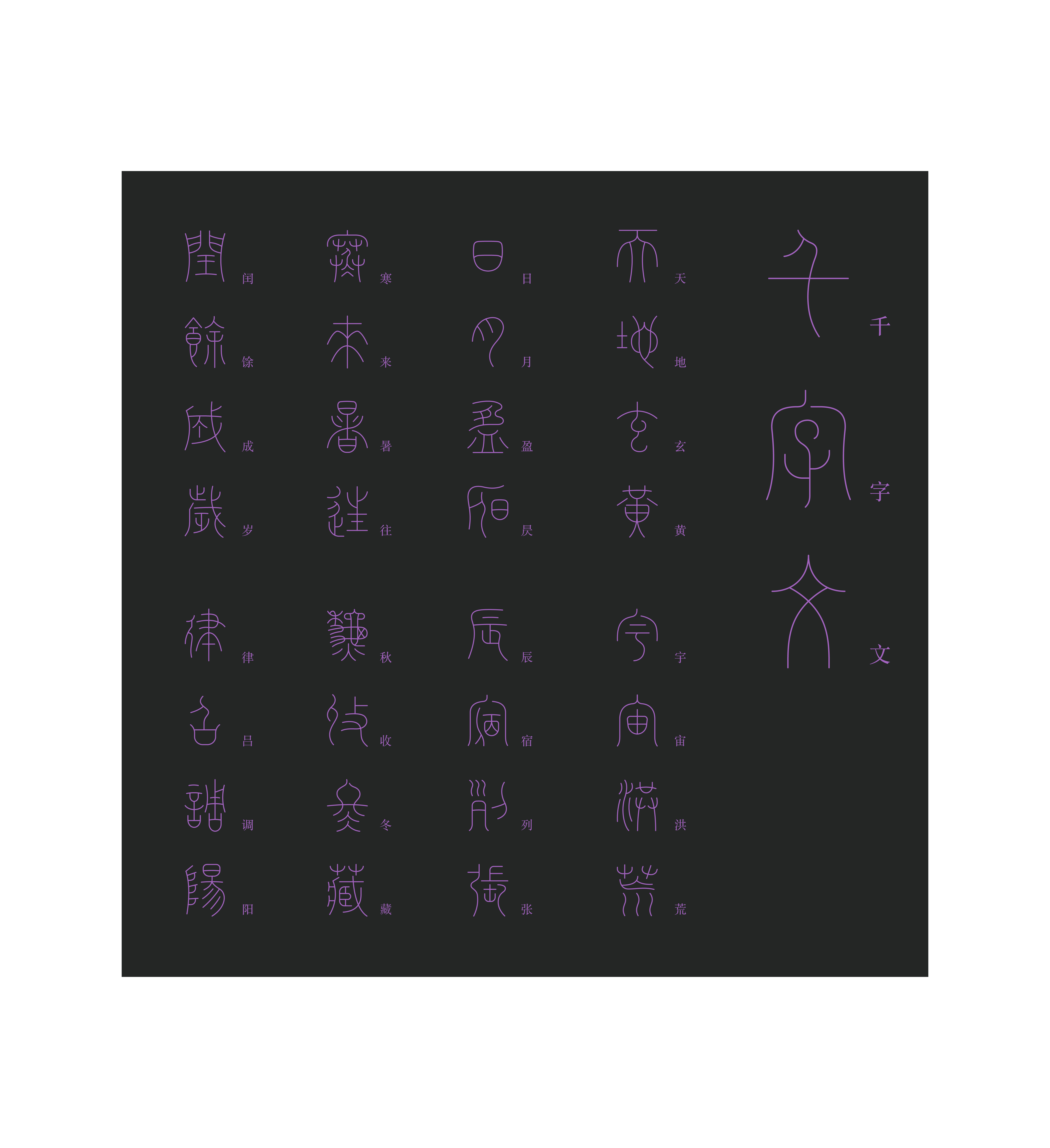 22P Collection of the latest Chinese font design schemes in 2021 #.424