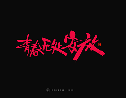 22P Collection of the latest Chinese font design schemes in 2021 #.699